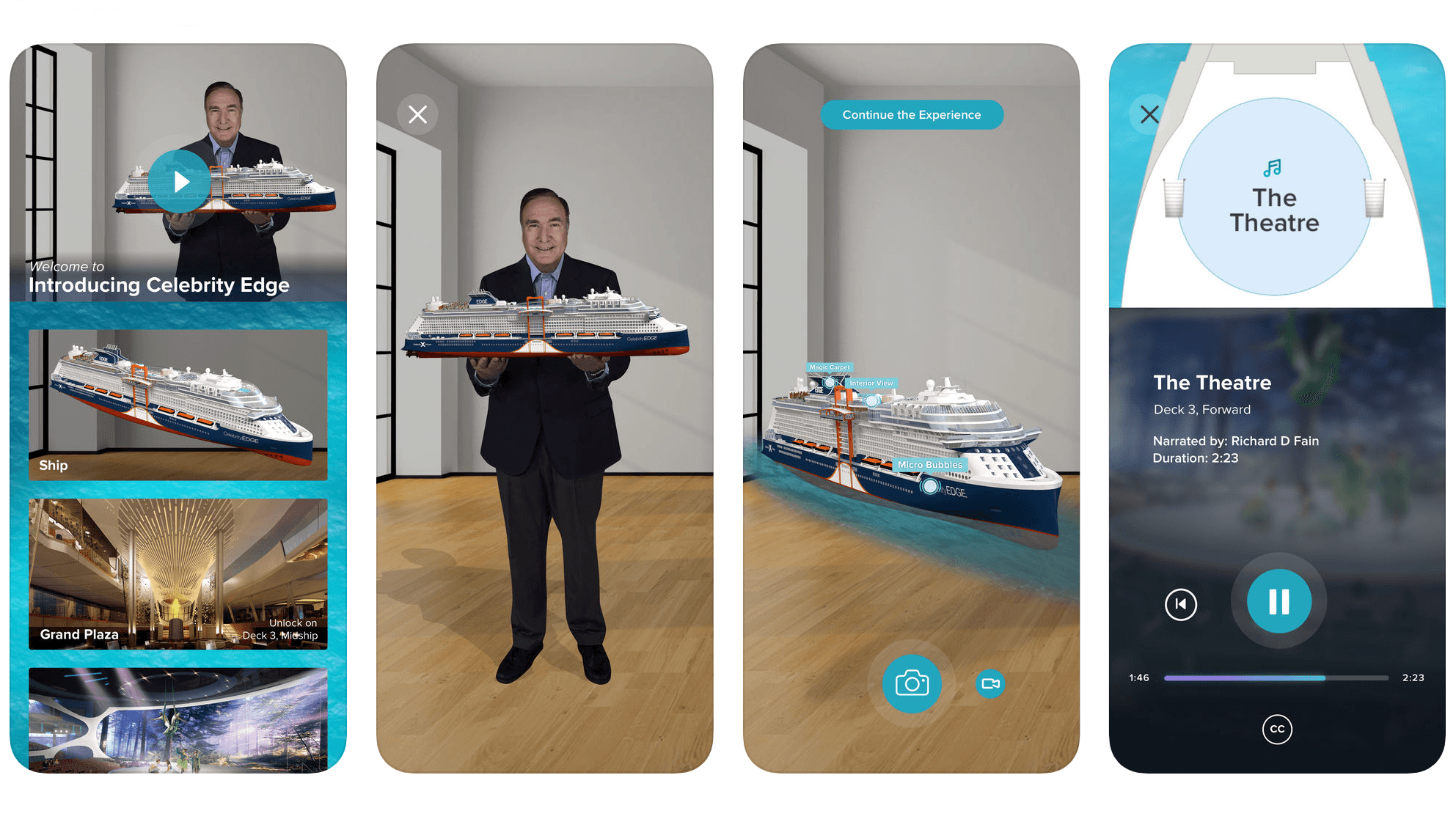 Royal Caribbean Celebrity Edge App